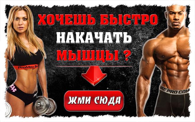 План тренировки для набора мышечной массы